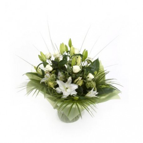Scented Lily Hand-Tied bouquet