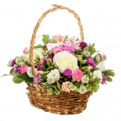 Country Cottage Basket